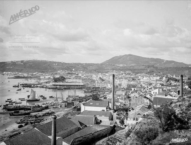 Porto de Setúbal, Américo Ribeiro, 1928