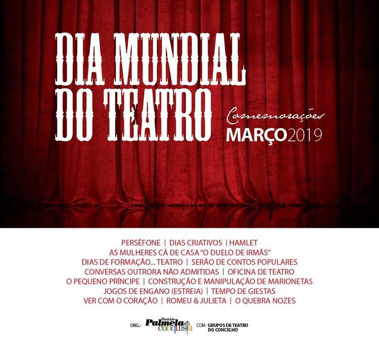 Comemorações do Dia Mundial do Teatro em Palmela