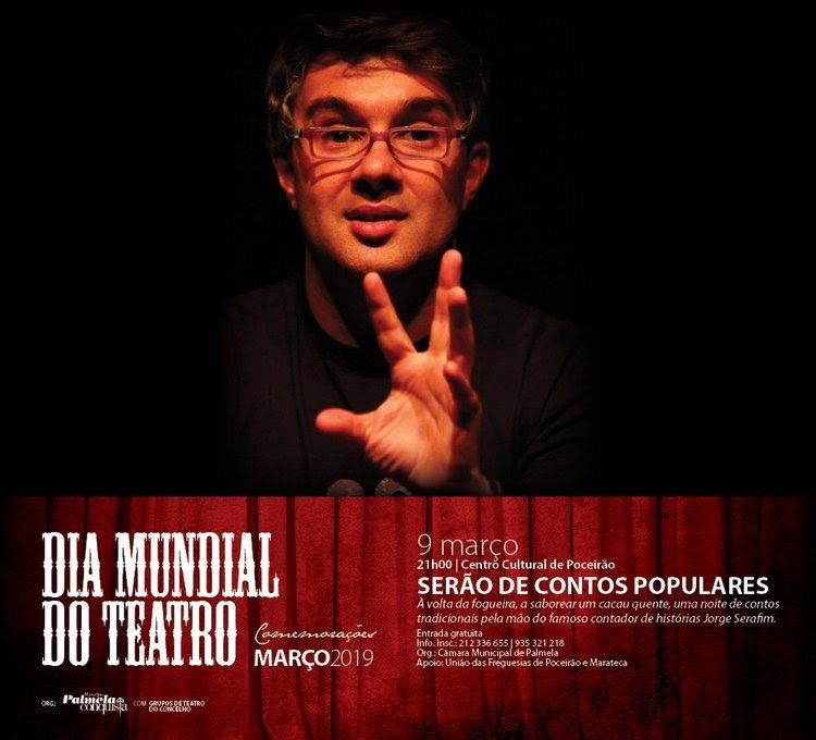 Serão de Contos Populares com Jorge Serafim no Centro Cultural de Poceirão