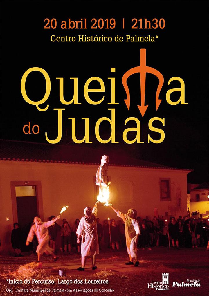 Queima do Judas | 20 de abril | Centro Histórico de Palmela