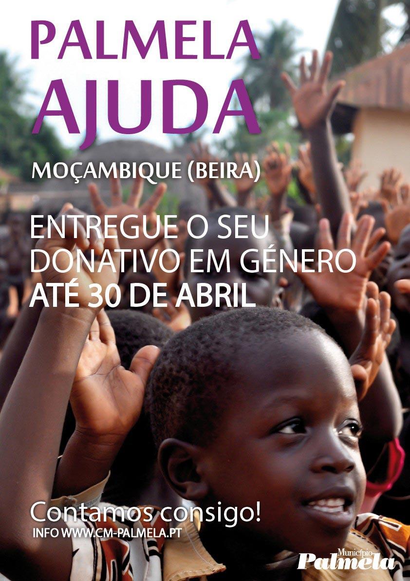 Palmela solidária com Moçambique