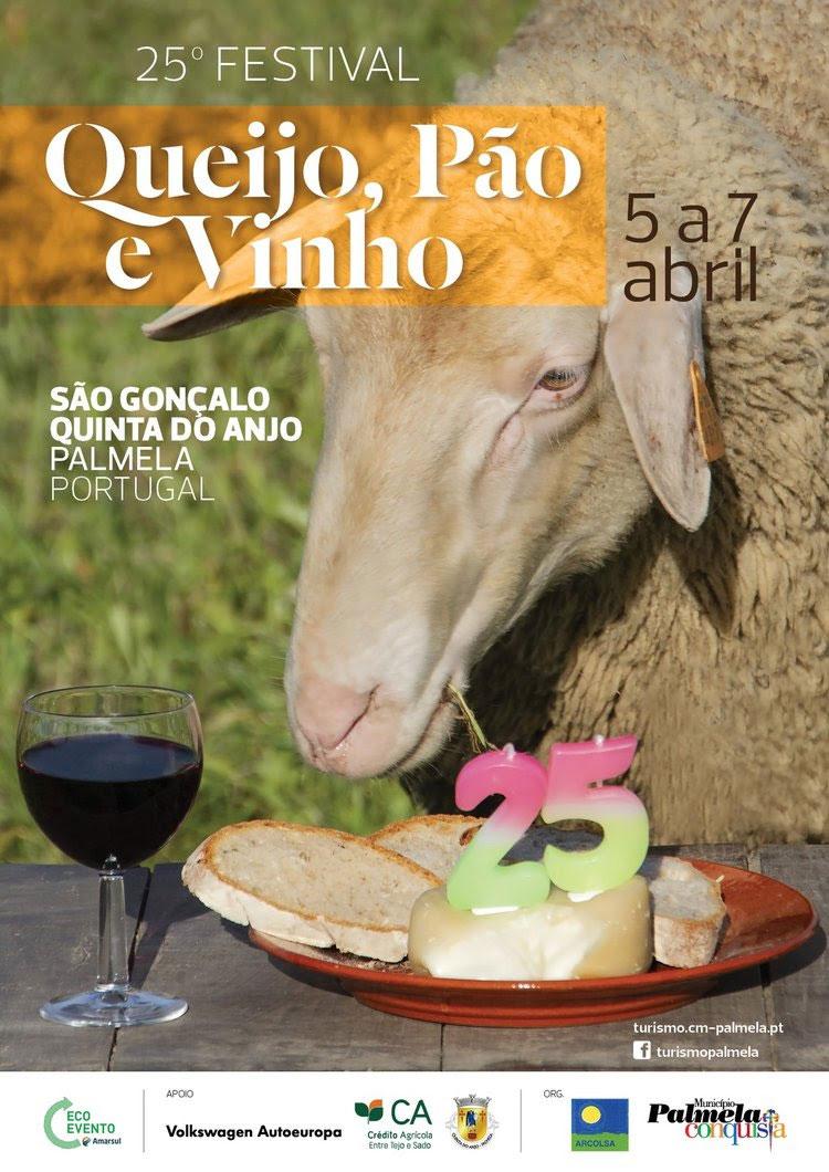 Festival Queijo, Pão e Vinho | 5 a 7 de abril 2019