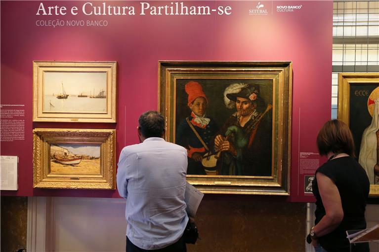 ARTE E CULTURA PARTILHAM-SE - TRÊS PINTURAS DA COLEÇÃO NOVO BANCO