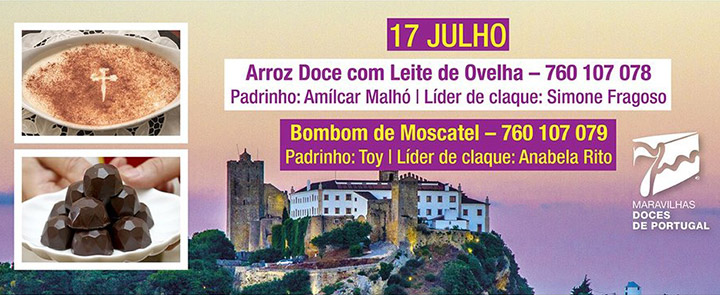 7 Maravilhas Doces de Portugal | Vote na Doçaria de Palmela!