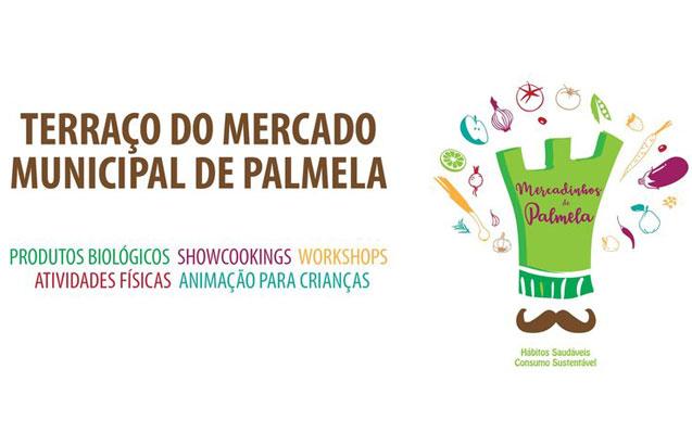 No dia 6 de julho: Mercadinhos de Palmela com Showcooking, Yoga e Caricaturas
