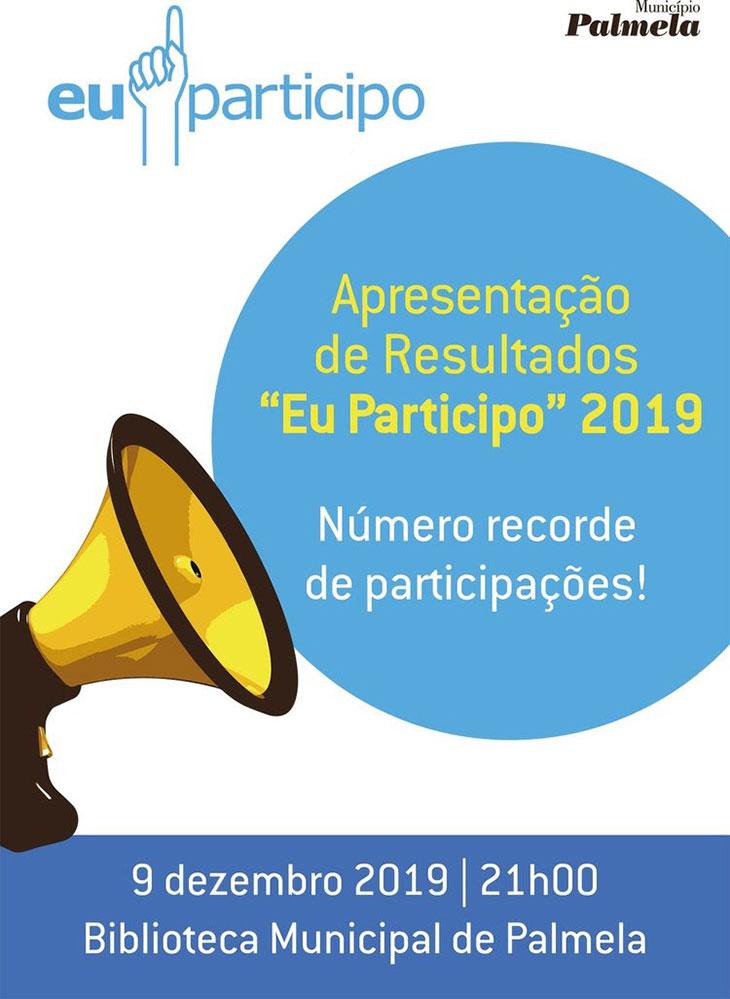 EU PARTICIPO 2019 | Apresentação de resultados a 9 de dezembro
