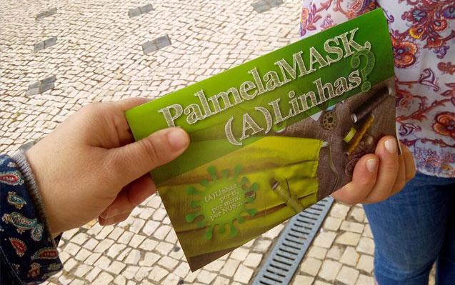 PALMELA MASK | Distribuição de máscaras começa hoje!