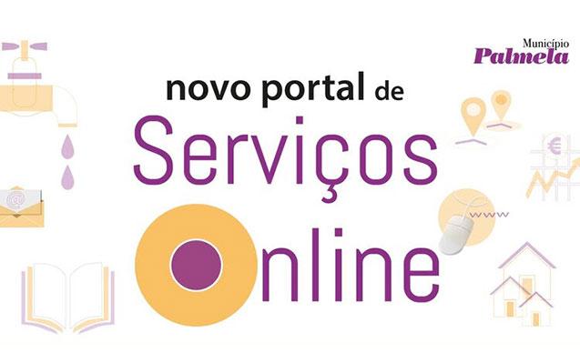 Já conhece o novo portal de serviços online do Município de Palmela?
