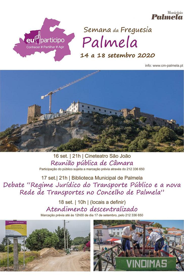 Semana da Freguesia de Palmela   14 a 18 de setembro 2020