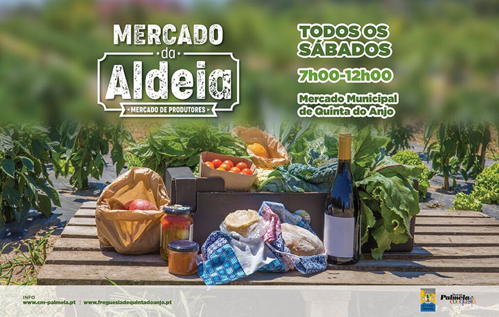 O Mercado da Aldeia veio para ficar | Todos os sábados em Quinta do Anjo com produtos frescos à sua espera!