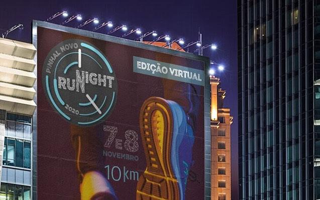 Pinhal Novo Night Run regressa em novembro com edição virtual! Inscrições abertas