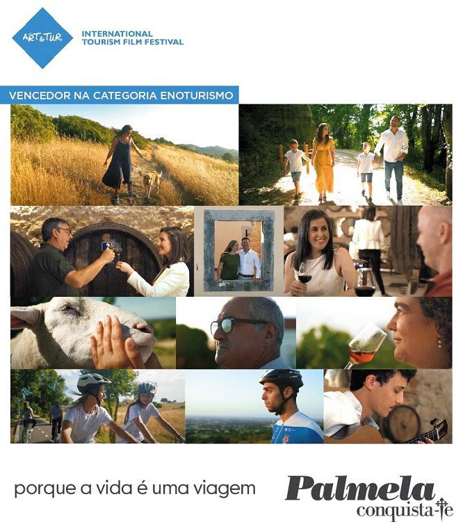 Filme de Palmela conquista 1.º lugar - ART&TUR - Festival Internacional de Cinema de Turismo