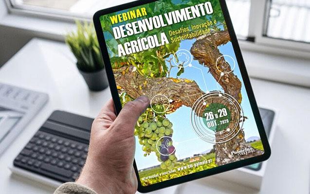 """É já dia 26! Inscreva-se no Webinar """"Desenvolvimento Agrícola – Desafios, Inovação e Sustentabilidade"""""""