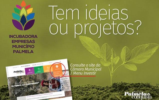 Tem ideias ou projetos? Coloque-os em prática na Incubadora de Empresas do Município de Palmela!