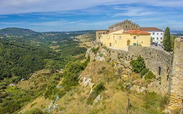 O Castelo de Palmela