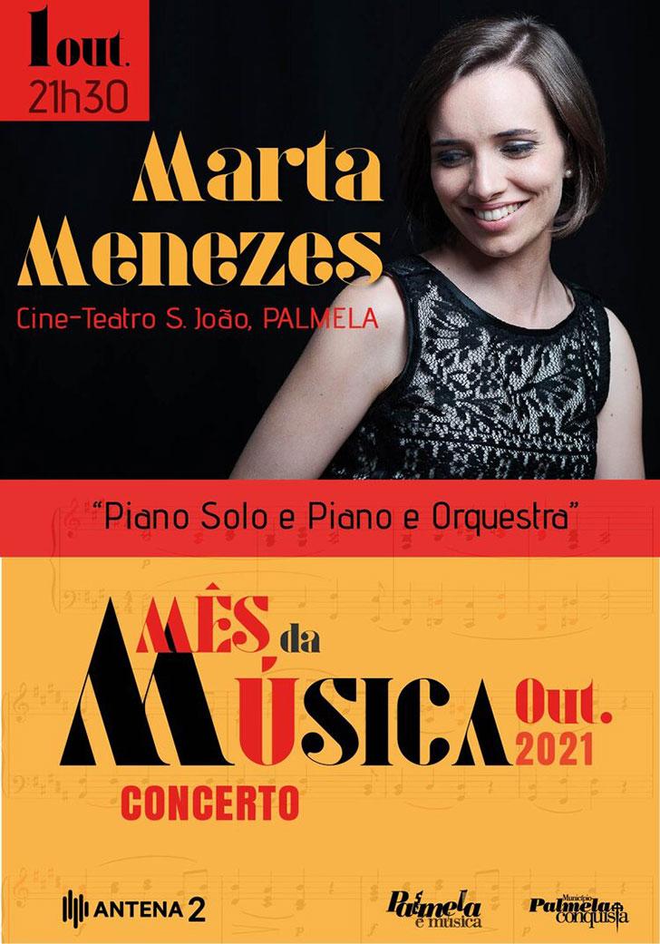 Mês da Música - Concerto Marta Menezes